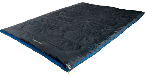High Peak Ceduna Duo Sleeping Bag anthrazit/blau